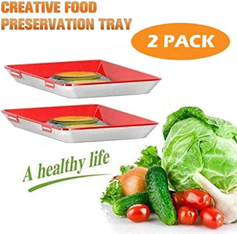 Creative Food Preservation Tray Healthy Kitchen Tool Preservation Box Set
