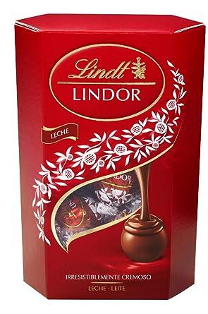Lindt Lindor Cornet Bombones de Chocolate con Leche - 500 gr