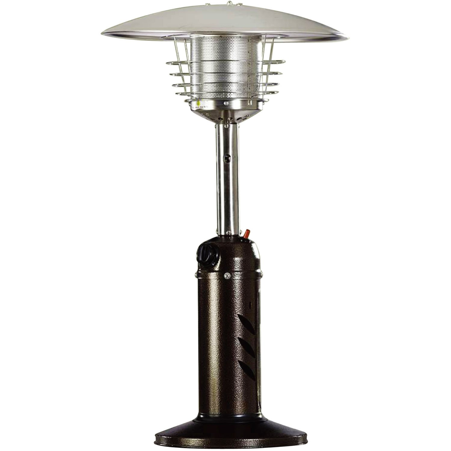 Hanover HAN0204HB Mini Umbrella Tabletop Propane Patio Heater