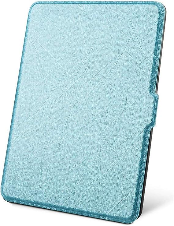 Fundas Amazon Kindle Paperwhite 1 2 3 4 Flip Carcasa Cuero PC 360° Proteccion Ultra-Delgado Magnética Automático Despertar o Dormir Función Estuche para Amazon Kindle 6.0