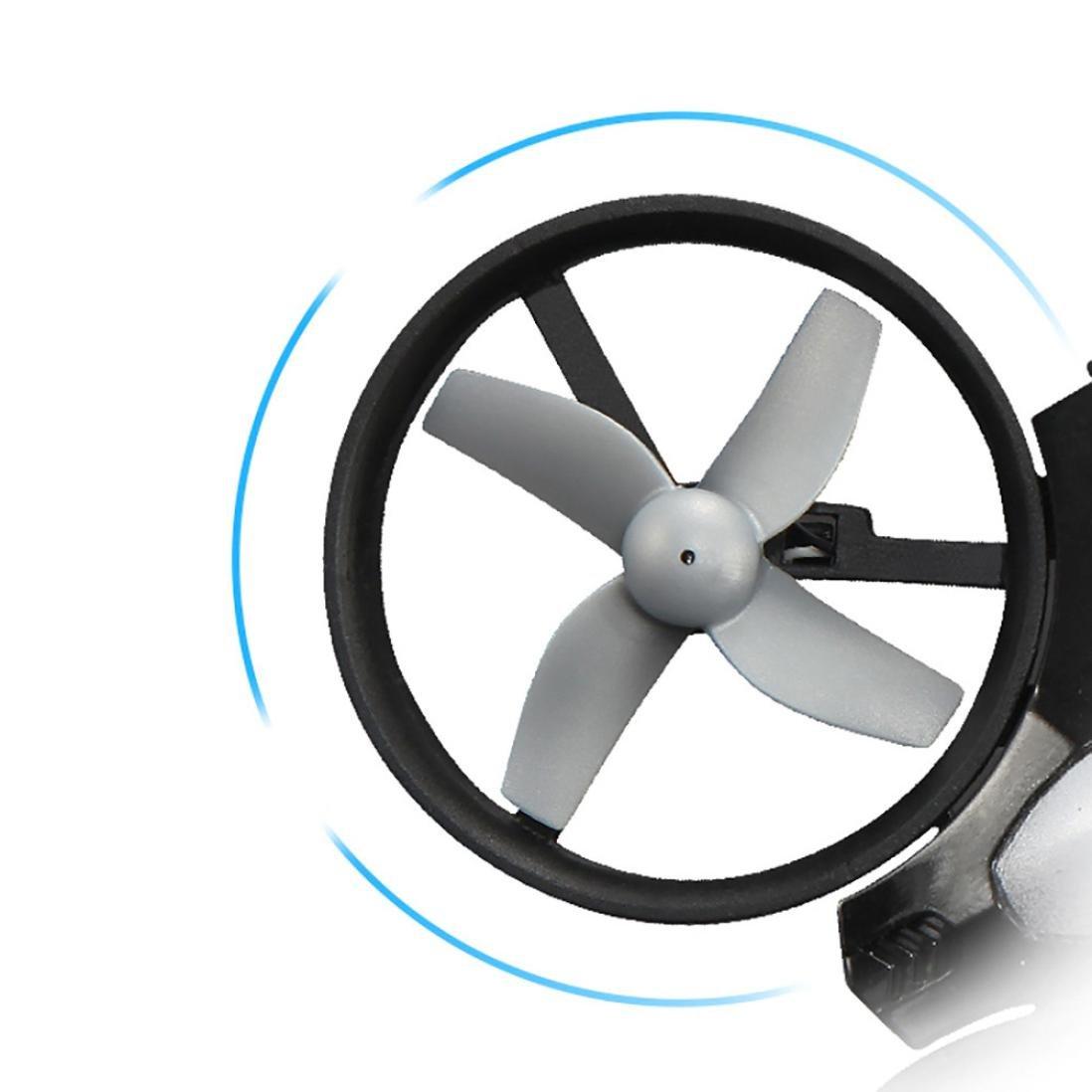 mchoice JJRC h36 6-axisジャイロヘッドレスモードミニRCクアッドコプターRTF 2.4 GHz  グレー B06XRRRZMT