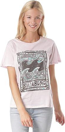 BILLABONG Hello Summer - Camiseta de Manga Corta para Mujer - Morado - X-Small: Amazon.es: Ropa y accesorios