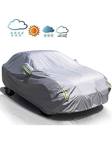 Protecci/ón impermeable contra la intemperie contra la lluvia polvo UV Bajo techo en exteriores viento Fundas para coche Funda de coche Jaguar X-TYPE sol