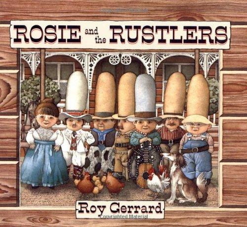 (Rosie and the Rustlers (Sunburst Book))