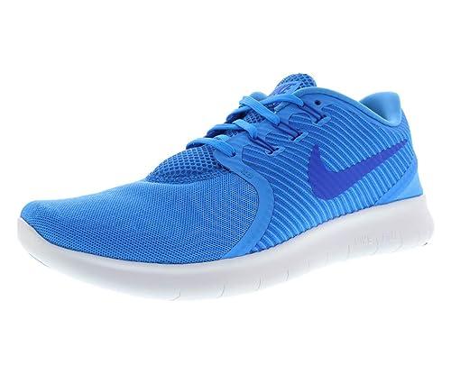 super popular b0a71 c3de3 Nike Free RN CMTR - Trainers, Men, Blue - (Blue Glow Hyper Cobalt-Wolf  Grey), 45.5  Amazon.co.uk  Shoes   Bags