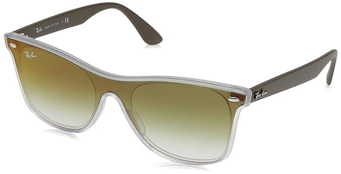 Ray-Ban 6358W0, Gafas de Sol Unisex, Matte Transparente, 45: Amazon.es: Ropa y accesorios