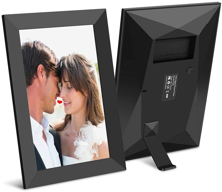 Send Goods from USA JHZL Digital Picture Frame 10.1 Inch WiFi 16GB Digital Photo Frame 1280x800 IPS Touch Screen Auto Rotate Motion Sensor Add Photos//Videos from iPhone /& Android App