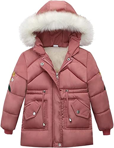 Boys Kid Winter Faux Fur Hood Coat Thick Padded Warm Parka Outwear Jacket 2019
