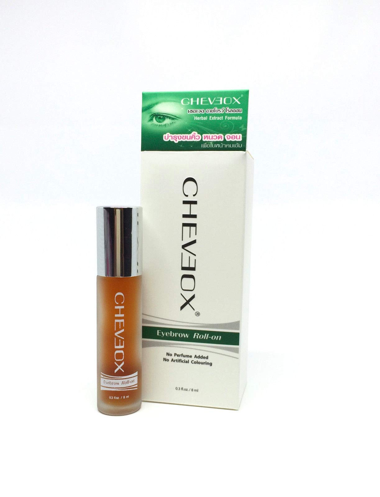 CHEVEOX Eyebrow Roll-on Rapid Grow Facial Hair Mustache Beard Eyebrows Sideburns by Cheveox