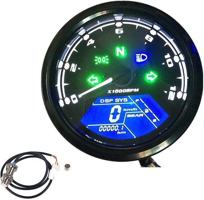 Motorrad-Tacho//Kilometerz/ähler Rotor Magnet forHusqvarna 125-501 TE//FE//FE I 2014-2020 LIWENCUI Color : Blue