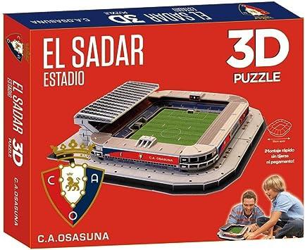 Kappa - Puzzle 3D Estadio El Sadar (Eleve Force): Amazon.es: Juguetes y juegos