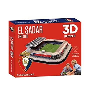 Kappa - Puzzle 3D Estadio El Sadar (Eleve Force)