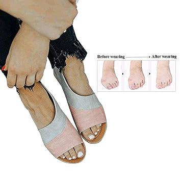 Big Orthopädische Sandalen Frauen Schuhe Fuß Korrektur Toe Weiche 7fvYgb6y