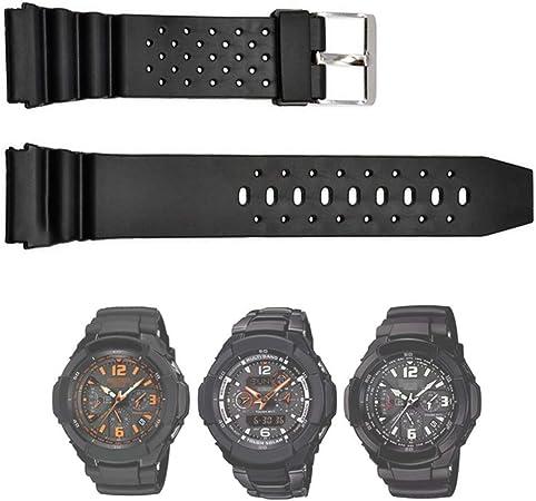 EUdinghaonuo Bracelet de Montre en PVC pour Montre Casio G  so9bE