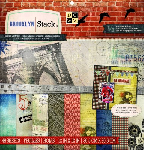 - DCWV Brooklyn Stack, 12 by 12-inches