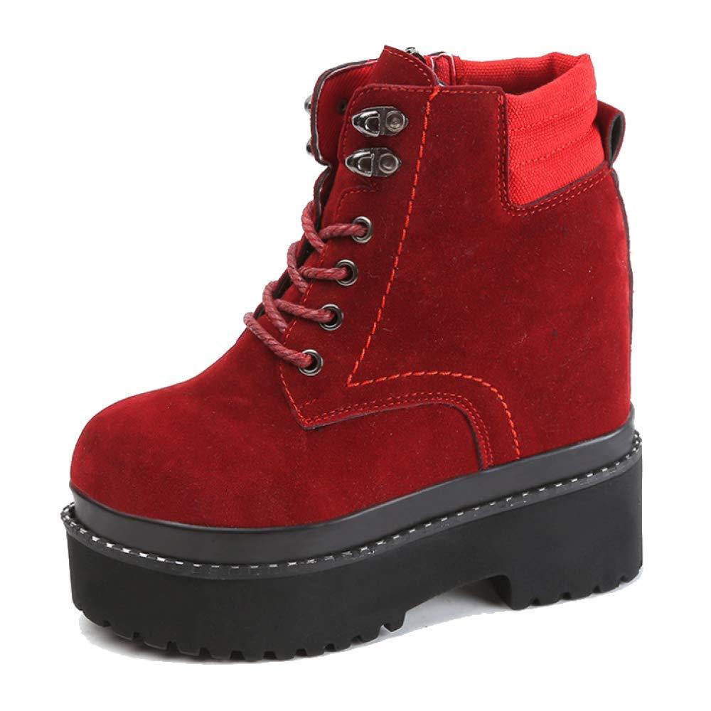 YCGCM Damen Martin Stiefel Stiefel Stiefel Herbst Und Winter British Wind Bequem Tragen Spitzen Stiefel 16fa88