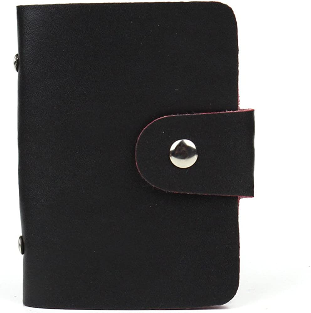 Details about  /Genuine Leather Credit Card holder with more than 24 slots for men and women