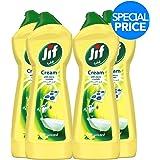 Jif Cream Cleaner Lemon, 500 ml (Pack of 4)