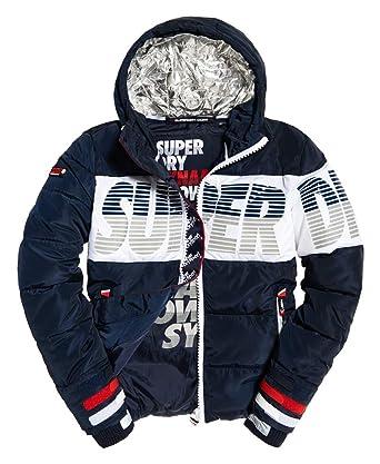 Superdry Herren Winter Jacke Japan Breakers Utility Jacke