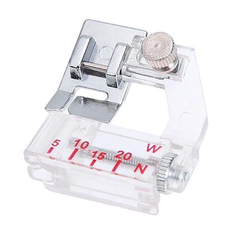 Prensatelas Accesorios para Máquina de coser Matefielduk Ajuste ajustable del pie de la máquina de coser