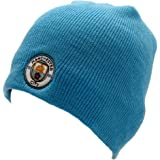 3c23d12f98b Sports   Outdoors UTSG8192 1 Manchester City FC Adults Official Knitted  Football Crest Beanie Hat Man City ...