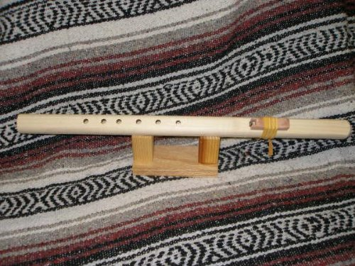F# 6 Hole Unfinished Windpony Native American Flute