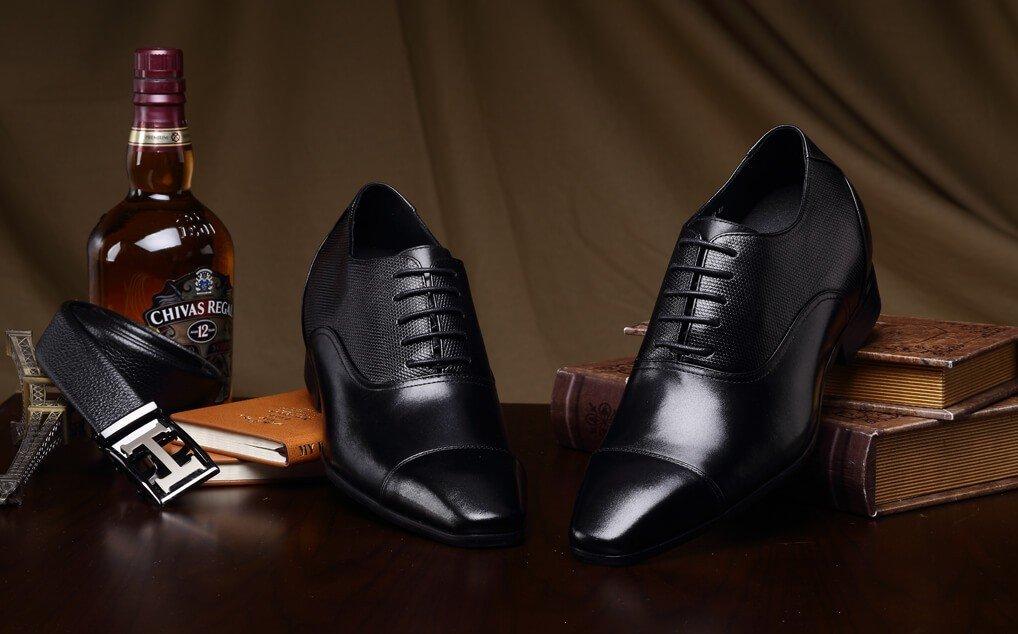 CHAMARIPA Height Increasing Elevator Shoes 2.96'' Taller Men Tuxedo Dress Oxford Shoes K4022 10 D(M) US by CHAMARIPA (Image #5)