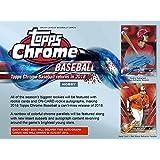 2018 Topps Chrome Baseball Hobby Edition Factory Sealed 24 Pack Box - Baseball Wax Packs