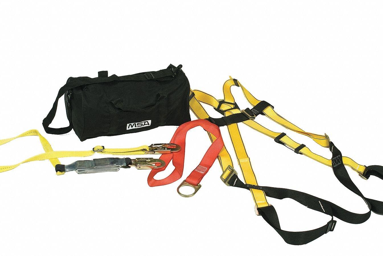 MSA Safety 10092167 Workman caída protección Kit, incluye estándar ...