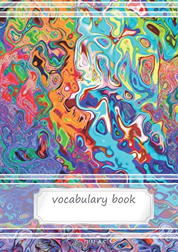 Vocabulary Book: 2 columns, 70 lined pages, 21 rows each page - 5,83