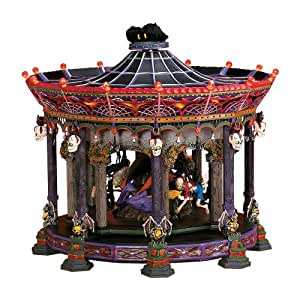 Department 56 Ghostly Carousel Snow Village Halloween