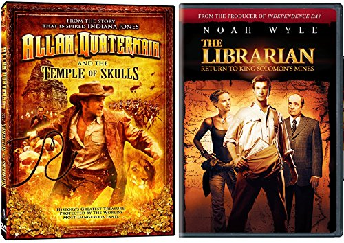 Librarian, The: Return To King Solomon's Mines & Allan Quatermain and the Temple of Skulls DVD Lost Adventure Set