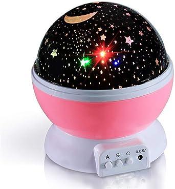 Estrellas Cielo estrellado LED Luz nocturna Proyector Lámpara de ...