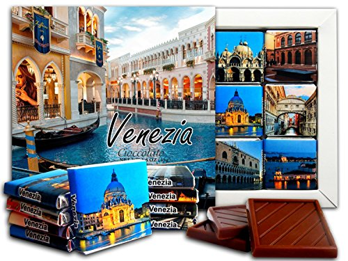 DA CHOCOLATE Candy Souvenir VENICE Chocolate Gift Set 5x5in 1 box - St Galleria