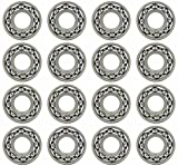 ball bearings 3 16 - Sixteen (16) MR63 3x6x2mm Open Precision Ball Bearings