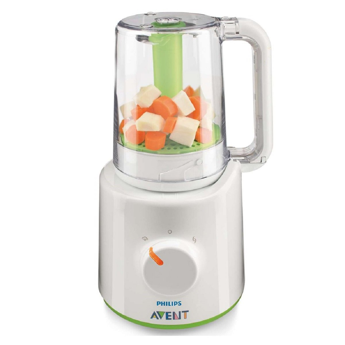 Philips AVENT Combined Baby Food Steamer and Blender, White SCF870/21 Phillips baby food maker weaning