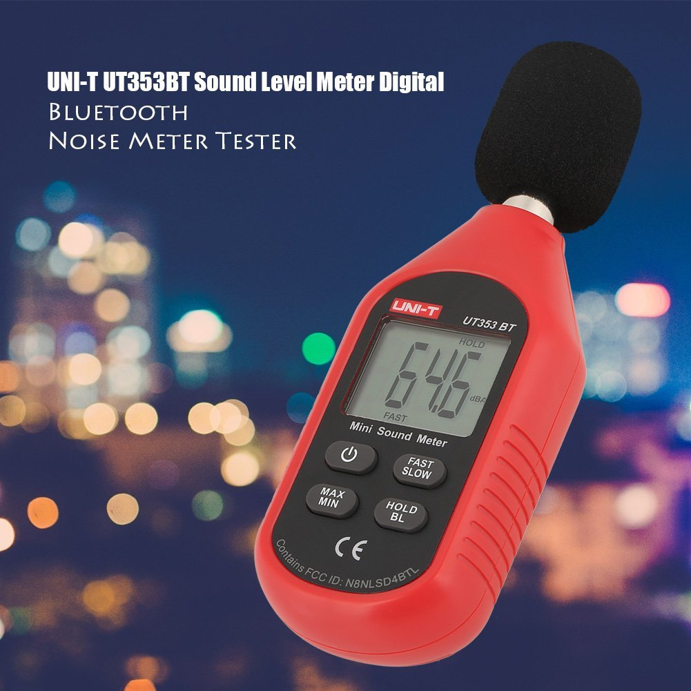 UNI-T UT353BT Sound Level Meter Digital Bluetooth Noise Meter Tester 30-130dB Monitoring Sound,with Bluetooth Function. by Hilitand (Image #6)