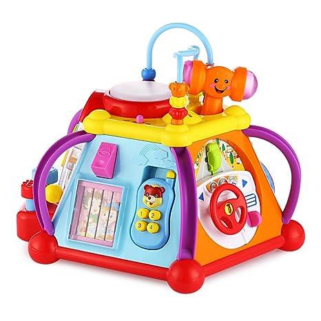 691060ec0802f9 Hola Giocattolo Multifunzione per Bambini Giochi Educativi in Concerto Toys  Musicale Regalo Ideale per Baby 1