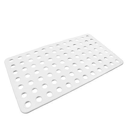 Amazon Com Big Hole Anti Slip Bath And Shower Mat Rubber