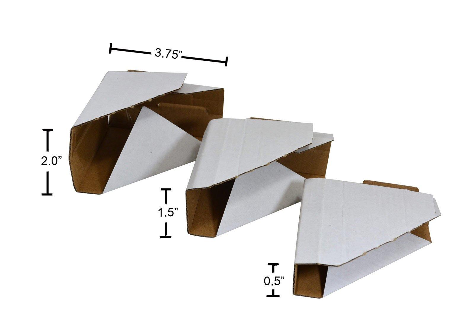 Golden State Art Pack Of 100 Adjustable Cardboard Corner Protector