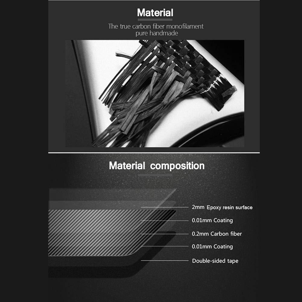 Travesa/ño de la puerta Placas protectoras Placas de fibra de carbono Llaves protectoras para X5 X6 F15 F16 Guardias de entrada