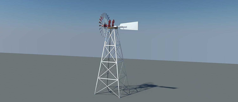 Windmill Plan DIY A/érateur deau Alternatif /énergie /éolienne Antenne
