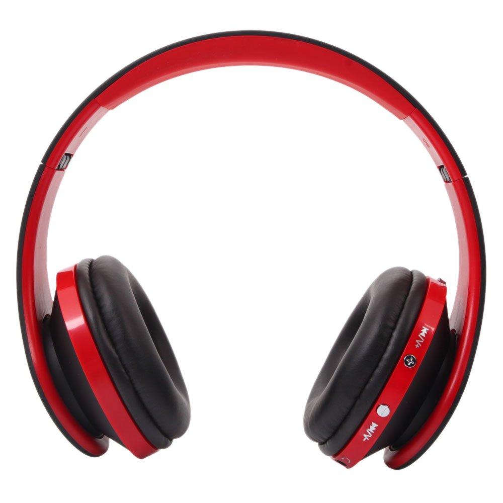 Minelody Bluetooth Headphone, Headphones Over Ear Hi-Fi Stereo Wireless Headset Soft Memory-Protein Earmuffs with Mic for iPhone/iPad/PC
