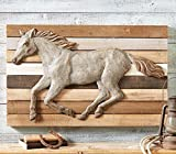 Horse Barnwood & Metal Wall Art