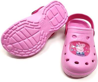 Theonoi Peppa Pig – Sandalias de baño para niños Clogs, Zapatillas de casa, Zapatillas de baño, Zapatillas de Goma, para el jardín: Amazon.es: Zapatos y complementos