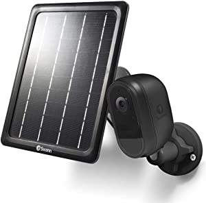 Swann 1080p HD Indoor/Outdoor Wireless Wi-Fi Battery Home Security Camera with Solar Charging Panel