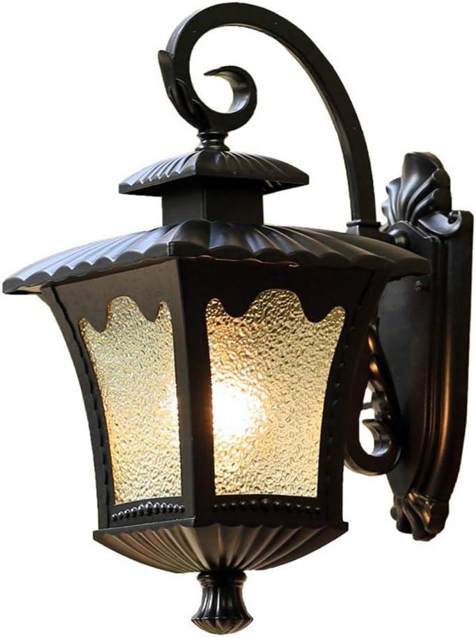 JIAJIA コンチネンタル防水屋外屋内屋外の庭の壁ランプ創造的なレトロなベッドルームのバルコニーの通路灯LEDライト21 * 27 * 43センチメートル かわいらしい