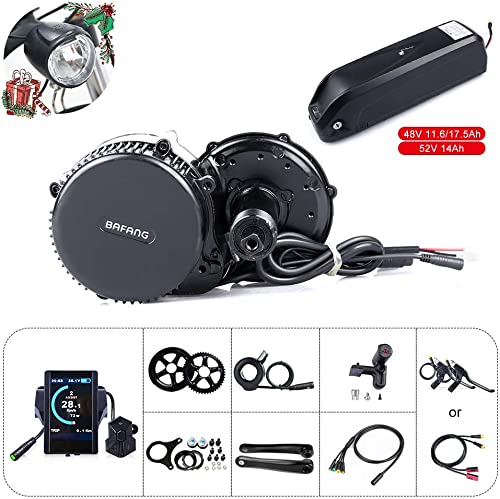 BAFANG BBS02B 48V 750W Mid Drive Electric Bike Motor Ebike Conversion Kit Mid Motor