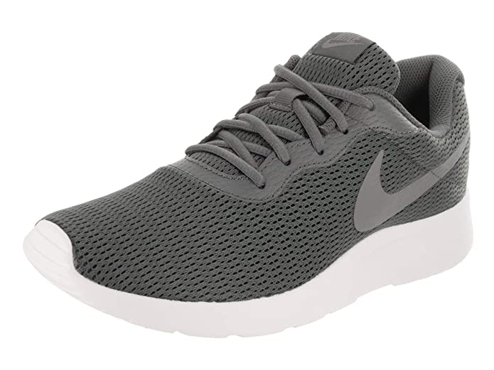 Amazon.com | Nike Mens Tanjun Running Sneaker, Dark Grey/Cool Grey, 9.5 | Shoes