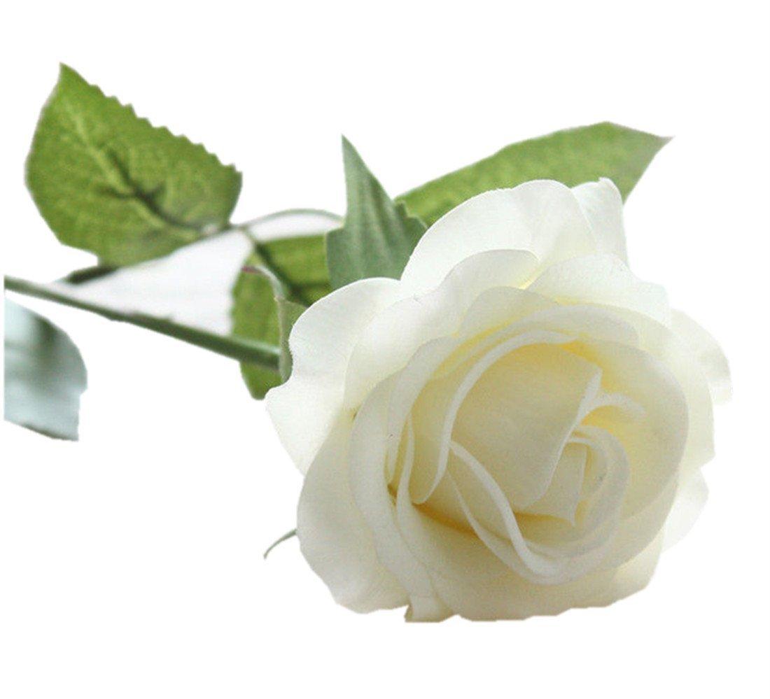 G/én/érique 10 tiges Calla Lily Fleurs Mariage F/ête De Mariage Accueil D/écors Bouquet en Latex Toucher R/éel Fleur Bouquet Fleurs Artificielles par TheBigThumb